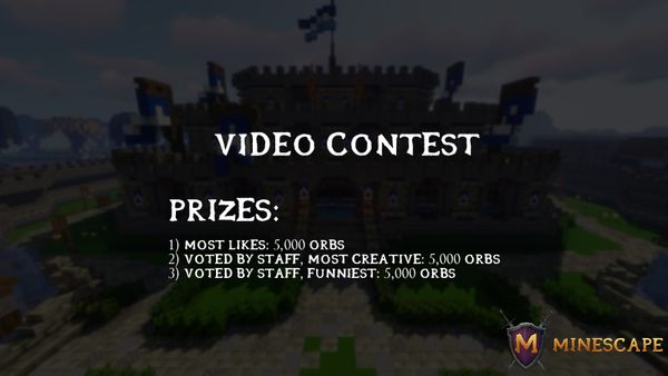 Minescape Video Contest